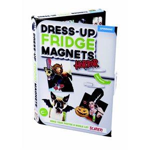 Dress Up Fridge Magnets-Horror