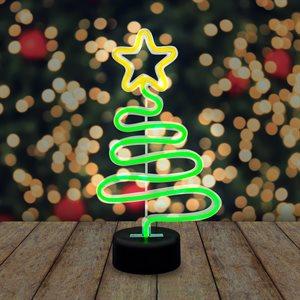 Neon Christmas Tree Light