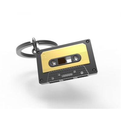 Keychain-Audio Cassette