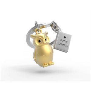 Keychain-Owl and Book