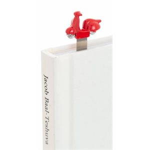 Red Scooter Bookmark