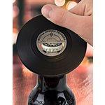 Vinyl Bottle Opener