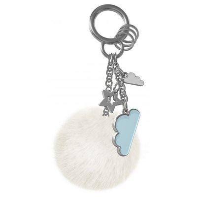 Bag charm-Blue Cloud