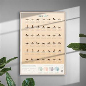 Poster Yoga Flow-Calm Club